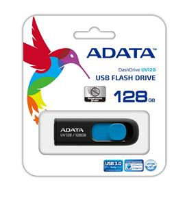 ADATA DashDrive-UV128-USB-3.0-Flash-Memory-128GB